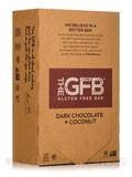 Dark Chocolate + Coconut Protein Bar - Box of 12 Bars (2.05 oz / 58 Grams each)