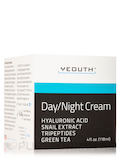 Day/Night Cream with Hyaluronic Acid, Snail Extract, Tripeptides, Green Tea - 4 fl. oz (118 ml)