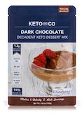 Decadent Keto Dessert Mix, Dark Chocolate Flavor - 5.0 oz (143 Grams)