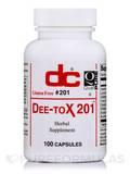 Dee-Tox 201 100 Capsules