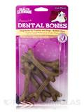 Dental Bones for Puppies and Dogs, Liver Flavor - 6 Small Pieces (4 oz / 113 Grams)
