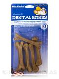 Dental Bones for Puppies and Dogs, Peanut Butter Flavor - 6 Small Pieces (4 oz / 113 Grams)
