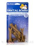 Dental Bones for Puppies and Dogs, Peanut Butter Flavor - 9 Mini Pieces (4 oz / 113 Grams)