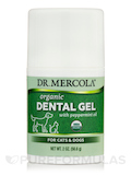 Organic Dental Gel for Cats & Dogs, Peppermint Flavor - 2 oz (56.6 Grams)
