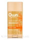 Deodorant, Citrus + Sage - 2.7 oz (75 Grams)