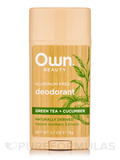 Deodorant, Green Tea + Cucumber - 2.7 oz (75 Grams)