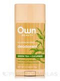 Deodorant, Green Tea + Cucumber - 2.7 oz (75 Grams)