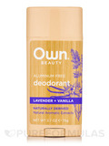 Deodorant, Lavender + Vanilla - 2.7 oz (75 Grams)