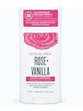 Deodorant Stick - Rose + Vanilla - 3.25 oz (92 Grams)
