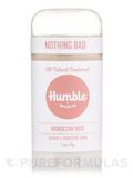 Deodorant Vegan & Sensitive Skin - Moroccan Rose - 2.5 oz (70 Grams)