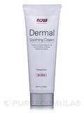 NOW® Solutions - Dermal Soothing Cream (with B-12 and Licorice Extract) - 4 fl. oz (118 ml)