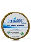 DermaQOL Balsam & Sulfur Skin-Care Bar 4.5 oz (127.5 Grams)