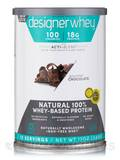 Designer Whey Protein Powder Gourmet Chocolate 12 oz