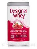 Designer Whey Protein Powder Luscious Strawberry - 2 lb (908 Grams)