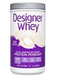 Designer Whey Protein Powder Plain & Simple - 2 lb (908 Grams)