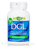 DGL (Deglycyrrhizinated Licorice) No Fructose Formula - 100 Chewable Tablets