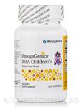 OmegaGenics® DHA Children's Natural Tutti-Frutti Flavor - 120 Softgels