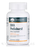 DHA Pediaburst Orange Flavor 180 Chewable Softgels