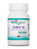 DHEA 10 mg Micronized Lipid Matrix - 60 Score Tablets