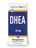 DHEA 25 mg - 30 MicroLingual® Tablets