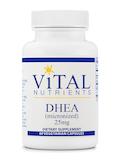 DHEA (micronized) 25 mg - 60 Capsules
