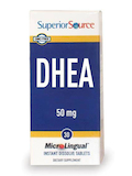 DHEA 50 mg - 30 MicroLingual® Tablets