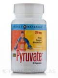Diet Pyruvate 750 mg 30 Capsules