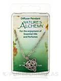 Diffuser Pendant Necklace - Celtic - 24 in / 0.3 oz