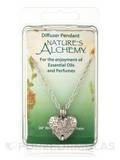 "Diffuser Pendant Necklace - Heart - 24"" / 0.3 oz"