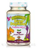 Dinosaurs DinoDophilus™ Probiotic 2 Billion, Black Cherry - 60 Chewables