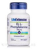 D,L-Phenylalanine 500 mg 100 Capsules
