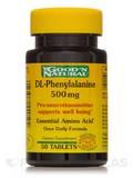 DL-Phenylalanine 500 mg 50 Tablets