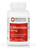 D-Mannose 500 mg - 90 Capsules