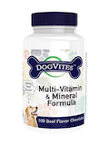 DogVites™ Multi-Vitamin & Mineral Formula for Dogs, Beef Flavor - 100 Chewable Tablets