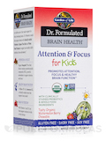 Dr. Formulated Brain Health Attention & Focus for Kids, Watermelon Berry Flavor - 60 Chewables