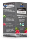 Dr. Formulated Brain Health Memory & Focus for Young Adults - 60 Vegetarian Tablets