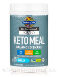 Dr. Formulated Keto Meal Vanilla Powder - 23.70 oz (1 lb 7.70 oz / 672 Grams)