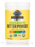 Dr. Formulated Keto Organic Grass Fed Butter Powder - 10.58 oz (300 Grams)
