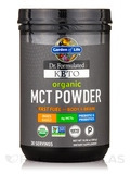 Dr. Formulated Keto Organic MCT Powder - 10.58 oz (300 Grams)