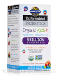 Dr. Formulated Probiotics Organic Kids+ 5 Billion CFU, Berry Cherry Flavor - 30 Chewables