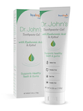 Dr. John's Toothpaste Gel with Hyaluronic Acid & Xylitol - 4.58 oz (130 Grams)