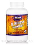 NOW® Sports - D-Ribose Powder (100% Pure) - 8 oz (227 Grams)