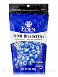 Dried Blueberries, Wild, Hand Harvested, Organic - 4 oz (113 Grams)