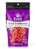Dried Cranberries Apple Sweetened - 4 oz (113 Grams)