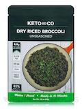 Dry Riced Broccoli, Unseasoned - 2.8 oz (80 Grams)