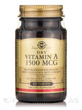 Dry Vitamin A 1500 mcg - 100 Tablets