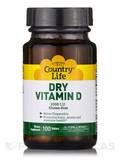 Dry Vitamin D 1000 IU - 100 Tablets