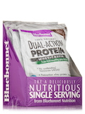 Dual Action Protein Powder - Whey + Casein, Chocolate Flavor - 8 Packets