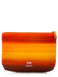 DUSK Orange Ombre Travel Bag