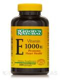 Vitamin E-1000 I.U. (dl-alpha tocopheryl acetate) - 100 Softgels